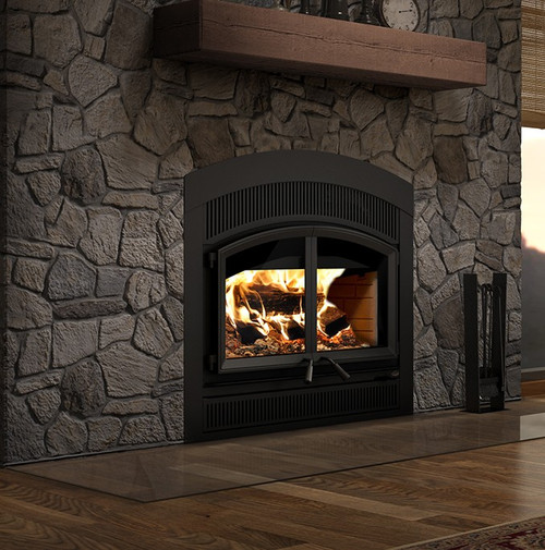 Valcourt FP15A Waterloo - Arched Urban Wood Fireplace