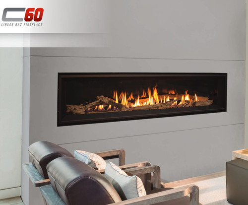 Enviro C60 Linear Gas Fireplace