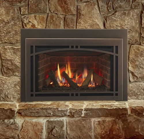Majestic Ruby 25 Small Gas Insert