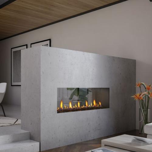 Regency Seattle See-Through 60 Fireplace