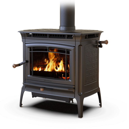 Hearthsone Manchester 8362 Wood Stove in Matte Black