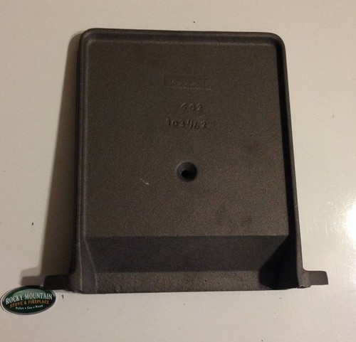 Jotul F602 CB Wood Stove - Rear Burn Plate