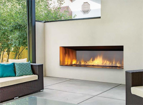 """60"""" Outdoor Linear Gas Fireplace"""