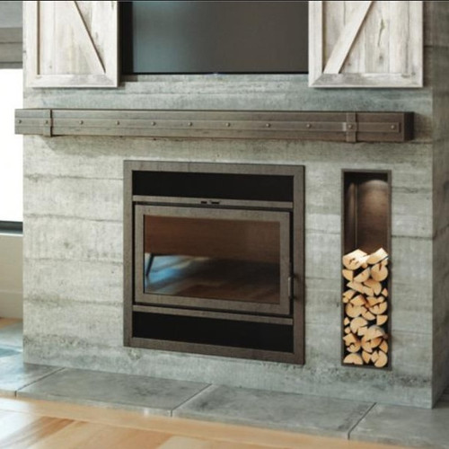 Elegance 36 Wood Fireplace by Ambiance