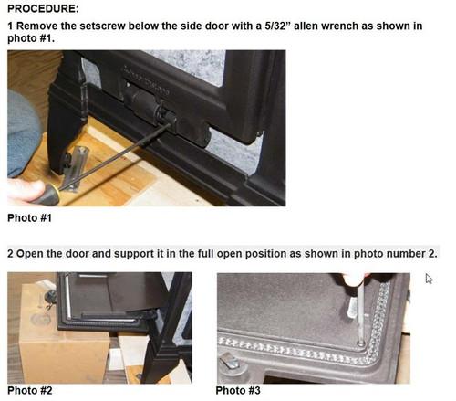 Heritage 8022 Side Door Spring 5240-143
