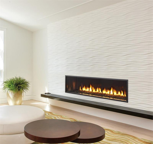 New York View 72 - City Series Gas Fireplace