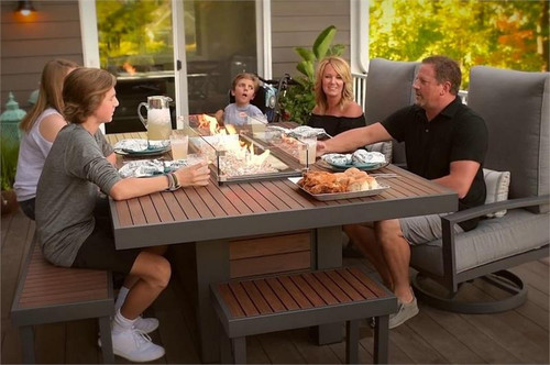 Kenwood Dinning Firepit Table