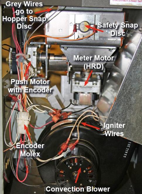 Avalon / Lopi AGP Pusher Auger Motor 250-02598
