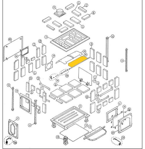 Hearthstone HI 91-58130 Damper Retrofit Kit