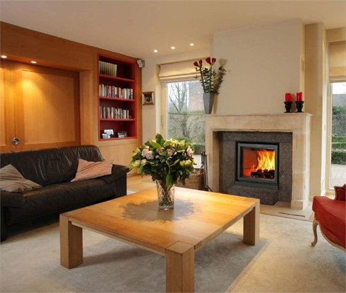 Stuv 16-Z Wood Burning Fireplace