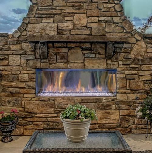Lanai Outdoor Gas Fireplace