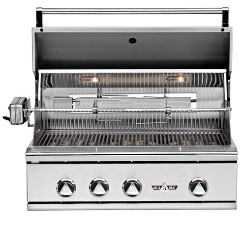 "Delta Heat 32"" Built-In Grills"