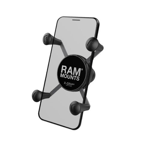 "RAM Mount X-Grip Universal Phone Holder 1"" Ball"