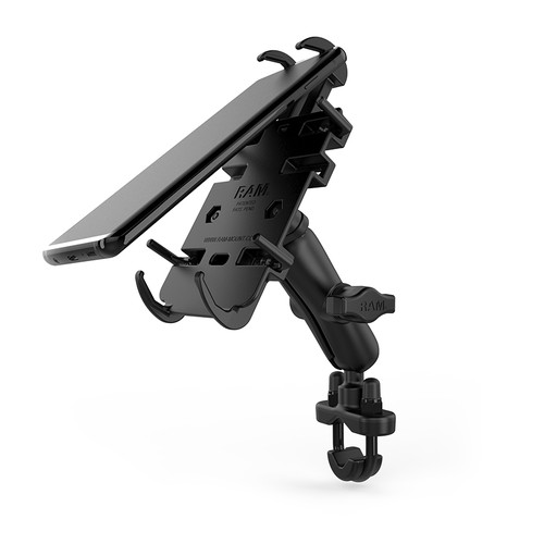 RAM Mount Handlebar Rail Quick Grip Cradle Kit