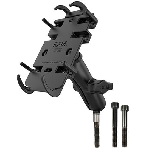 RAM Mount Motorcycle M8 Handlebar Universal Quick Grip Kit