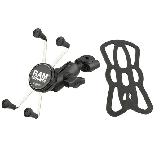 RAM Mount 10mm-16mm TORQUE Mirror Stem Large X-Grip Kit