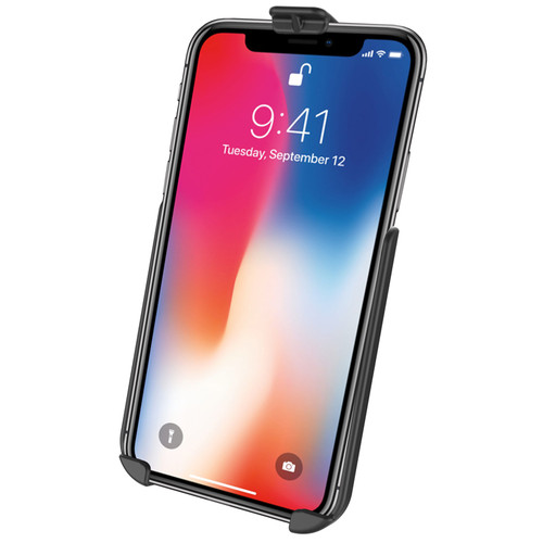 RAM Mount Cradle for iPhone XR Without Skin or Case