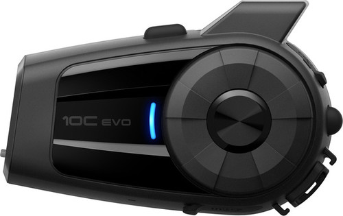 Sena 10C EVO 4K Ultra HD Camera Bluetooth Intercom Headset
