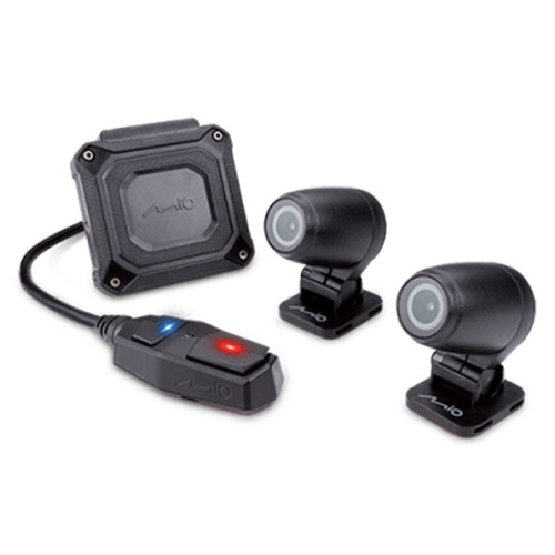 MiVUE M760D Motorcycle Dual Camera Recording System