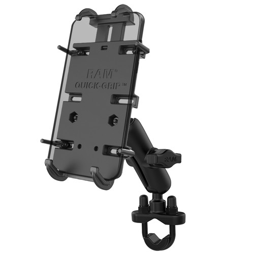 RAM Mount U-Bolt Handlebar Quick Grip XL Phone Kit