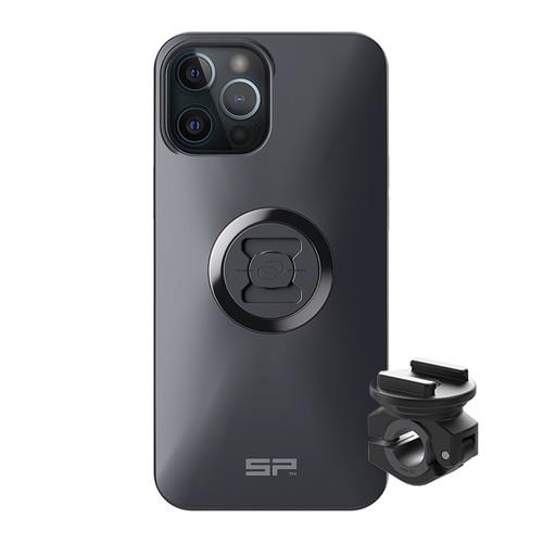 SP Connect Motorcycle Mirror Mount & Apple iPhone Case Bundle