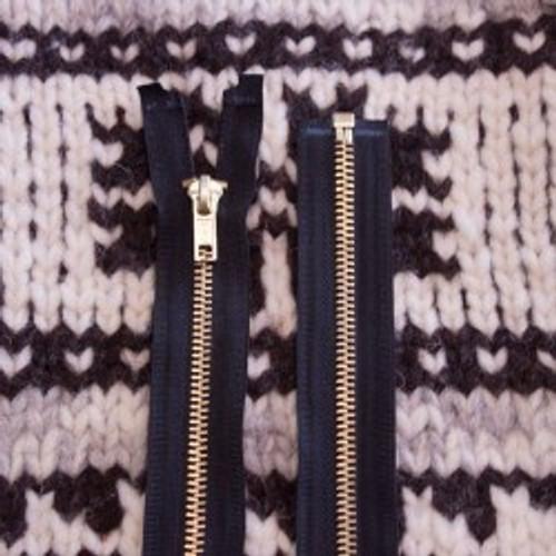 Bulky Zipper