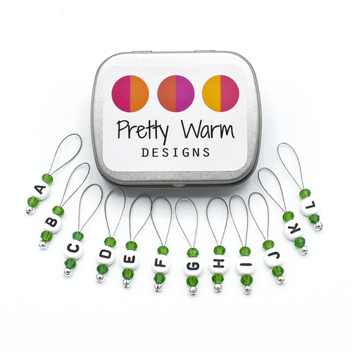 Pretty Warm Designs - Stitch Markers