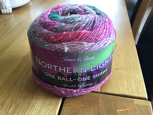 Northern Lights - One Ball One Shawl