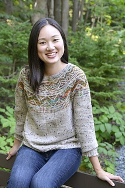 Ahmic Lake Pullover Kit - By Fleece Artist