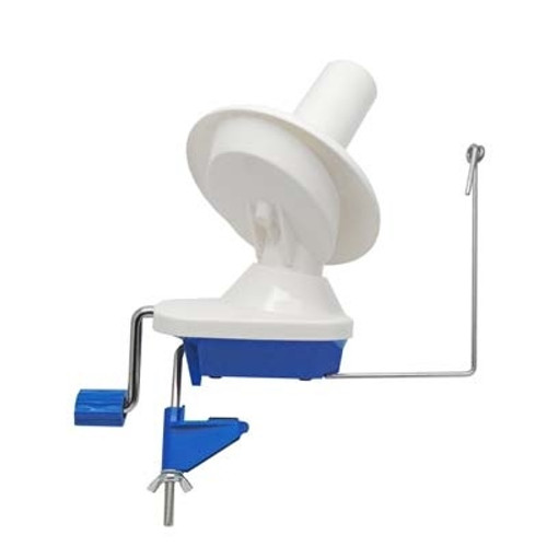 Blue Yarn Winder - by Estelle