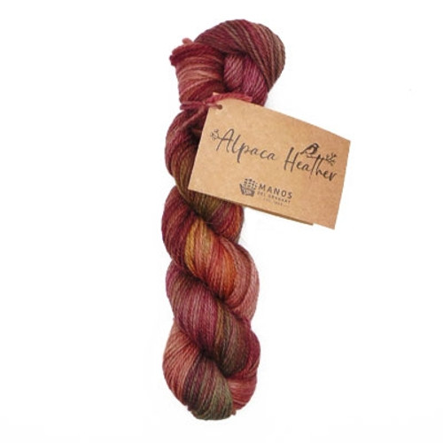Alpaca Heather Hand Dyed - By Manos