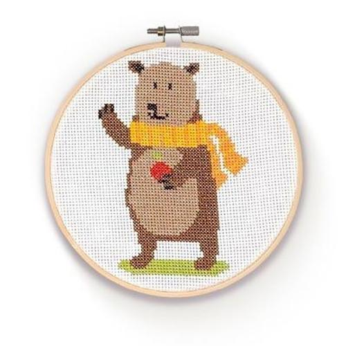 Cross Stitch Kit - by The Crafty Kit Co.