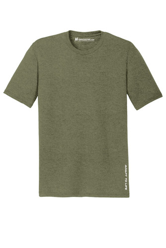 Hybrid Gear Men's Perfect Tri-Blend Crew T-Shirt