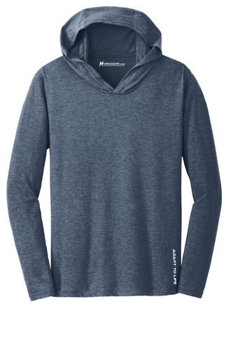 Hybrid Gear Men's Perfect Tri-Blend Long Sleeve Hoodie T-Shirt