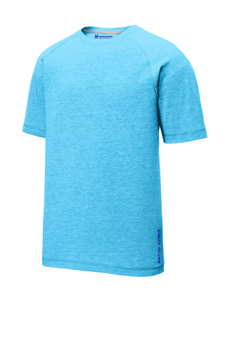 Hybrid Gear Men's Moisture Wicking Tri-Blend Raglan T-Shirt