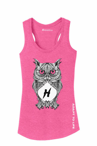 Owl Ladies Racerback Tank Top