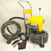 """BLUEROCK SDS200B 2""""-8"""" Sectional Pipe Drain Cleaning Machine 120' Snake Cleaner (x2 60' Cables) - PACKAGE DEAL"""