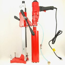"BLUEROCK 4"" Z1WS Concrete Core Drill With Stand"