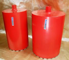 """BLUEROCK 1"""" - 12"""" Diamond Wet Coring Bit Set For Concrete Core Drill - PACKAGE DEAL"""