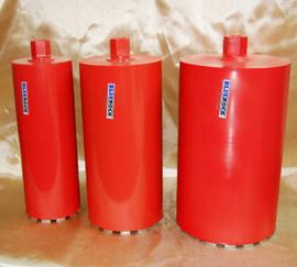 """BLUEROCK 7"""" - 12"""" Diamond Wet Coring Bit Set For Concrete Core Drill - PACKAGE DEAL"""