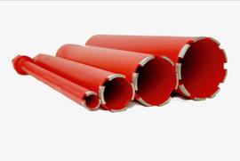 """BLUEROCK 1"""" - 4"""" Diamond WET Coring Bit Set For Concrete Core Drill"""