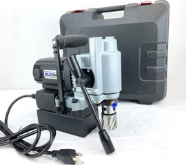 REFURBISHED BLUEROCK TYP-28A Mini Magnetic Drill Typhoon Small Mag Annular