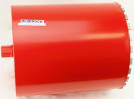 "Refurbished BLUEROCK 14"" Diamond WET Coring Bit For Concrete Core Drills"
