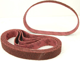 BLUEROCK Pack of 5 MEDIUM GRIT Scotch Brite Type (3M Style) Sanding Belts for Model 40A