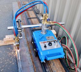 REFURBISHED Motorized Burner Cutter Machine w/ 12' Track