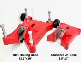 "BLUEROCK RB1 Rolling Base Upgrade for 4"" Z1WS, 8"" Z1, 10"" Z1"