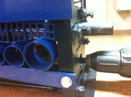 Refurbished BLUEROCK STRiPiNATOR MWS-808D Wire Stripping Machine