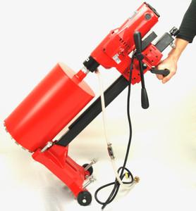 BLUEROCK Model 10Z1 RB Concrete Core Drill w/ Stand & Rolling Base