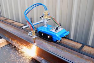 BLUEROCK CG-30 Gas Cutting Track Torch Kit - Motorized Burner Cutter Machine w/ 12' Track Included