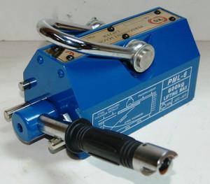 BLUEROCK Magnetic Lifter 600 KG - 1320 Lbs Steel Slab Plate Mag Lifting Magnet Crane Hoist